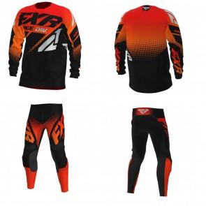 FXR Clutch Combo (Hose + Shirt) Red Orange Black