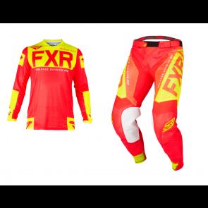 FXR Helium Air Combo (Hose + Shirt) Rot Hi - VIS