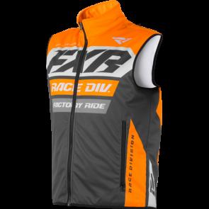 FXR RR Insulated Vest Orange Grau