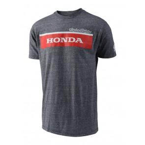 TLD Troy Lee Designs Honda Wing Block T-Shirt Grau