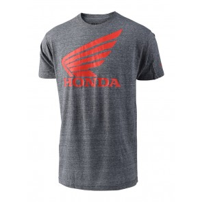 TLD Troy Lee Designs Honda T-Shirt Grau