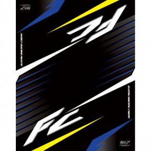 Hurly Motocross/Enduro Tankmatte Husqvarna FC FE 250, 350, 450