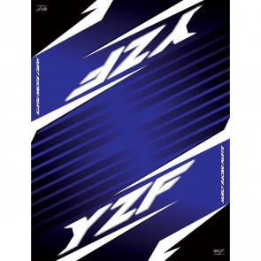 Hurly Motocross/Enduro Tankmatte Yamaha YZF 250, 450