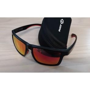 Jopa V200 Sonnenbrille Schwarz Orange - verspiegeltes Glas