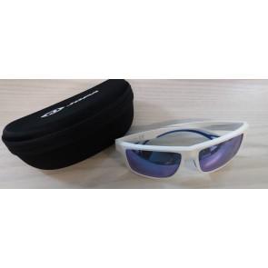 Jopa V200 Sonnenbrille Weiß Blau - verspiegeltes Glas