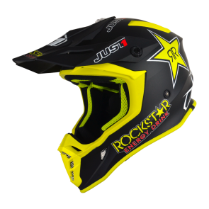 Just1 J38 Motocross Enduro Helm Rockstar Energy