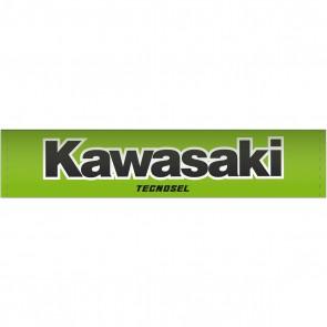 Kawasaki Vintage Lenkerpolster rund