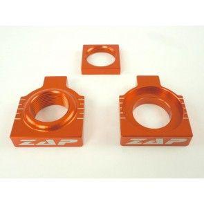 Kettenspanner Achsblöcke Orange KTM SX, SXF 125, 250, 350, 450 2013-