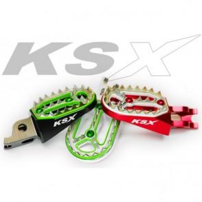 KSX Fußrasten Factory Line Kawasaki KX,KXF 2006-
