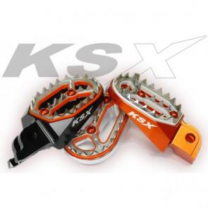 KSX Factory Fußrasten KTM SX 85 2004-2017