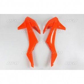 KTM Kühlerspoiler Neon Orange SX/SXF 125/250/350/450 2016-2018 / EXC 2017-2019