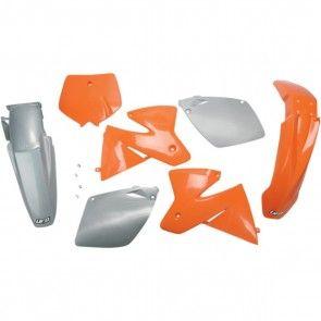 UFO Plastik-Kit KTM SX 125, 250, 380, 400, 520 2000