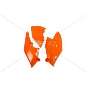 KTM Seitenteile mit Luftfilterkasten Abdeckung Orange SX, SXF 125, 250, 350, 450 2016-2018