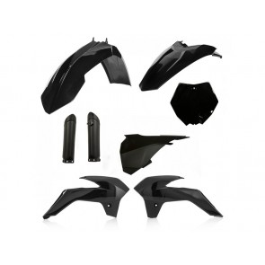 Acerbis Full Plastik Kit KTM SX 85 2013-2017 Schwarz