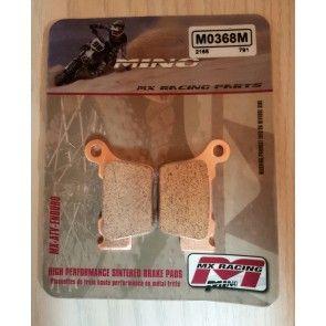 Mino Bremsbeläge hinten KTM SX, SXF 125, 250, 350, 450, 525, 505 2003- / EXC 2004-