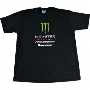 Monster Energy Pro Circuit T-Shirt Patch Grau