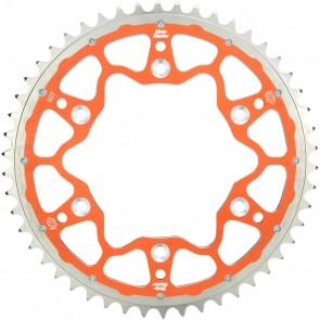 Dual Kettenrad Alu / Stahl Orange KTM Freeride 250, 350, E