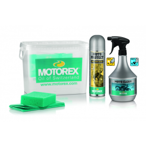 Motorex Motorrad Reiniger Set Moto Clean 900