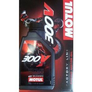 Motul 300V 15W50 Factory Line Road Racing 1L