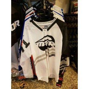 MSR Cross Shirt Weiß Schwarz L