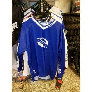 MSR Cross Shirt Blau Weiß L