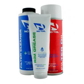 No-Toil Bio Luftfilter Set (Luftfilterspray + Luftfilterreiniger + Luftfilterfett)