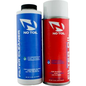 No-Toil Luftfilter Set (Luftfilterspray + Luftfilterreiniger)