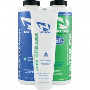 No-Toil Luftfilter Set (Evolution Luftfilteröl + Luftfilterreiniger + Luftfilterfett)