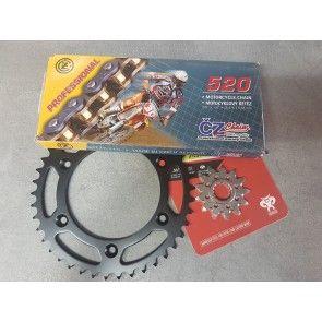O-Ring Kettenkit Stahl KTM SX, SXF, EXC 125, 250, 350, 450, 500, 525