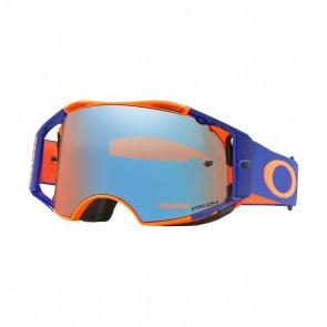Oakley Airbrake Brille Orange Blau Sapphire Glas