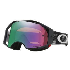 Oakley Airbrake Brille Jet Black Speed Prizm MX Jade Iridium Glas