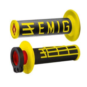 Odi Emig Lock-On V2 Griffe 2 Takt Schwarz/Gelb
