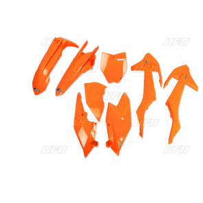 UFO KTM Plastik-Kit SX 85 2013-2017 NEON ORANGE