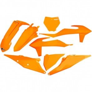 UFO Plastik Kit Neon Orange KTM SX, SXF 125, 150, 250, 350, 450 2019-