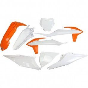 UFO Plastik Kit OEM KTM SX, SXF 125, 150, 250, 350, 450 2019-