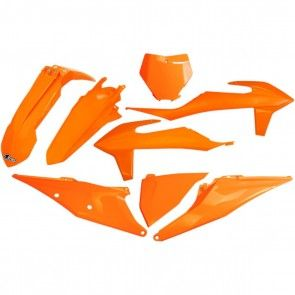 UFO Plastik Kit Orange KTM SX, SXF 125, 150, 250, 350, 450 2019-