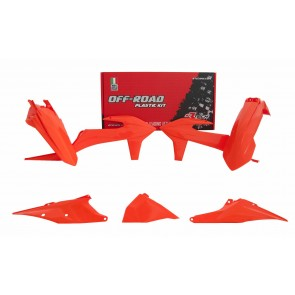 KTM Plastik Kit Orange EXC, EXC-F 250, 300, 350, 450, 500 2020-