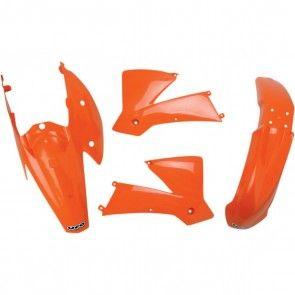 UFO Plastik-Kit KTM SX 125, 200, 250, 400, 525 2004