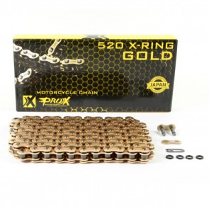 Prox 520 X-Ring Kette 120 Glieder Gold