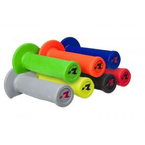 Racetech Lock on Motorrad Griffe zum Schrauben, Grau, Grün, Rot, Gelb, Orange, Schwarz, Blau