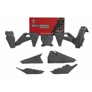 Racetech Plastik Kit Grau Husqvarna TC FC 125 250 350 450 2019-