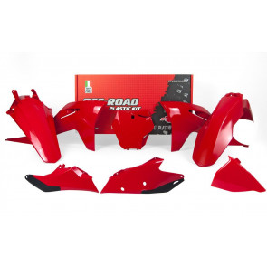 Racetech Plastik Kit Rot GasGas MC, MC-F 125, 150, 250, 350, 450 2021-