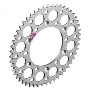 Renthal Aluminium Kettenrad KTM SX, SXF, EXC / Husqvarna FC, FE, TC, TE Silber 48-52 Zähne