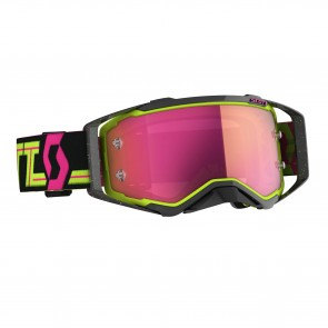 Scott Prospect Brille Schwarz Gelb Pink
