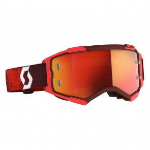 Scott Fury Brille Rot - Orange