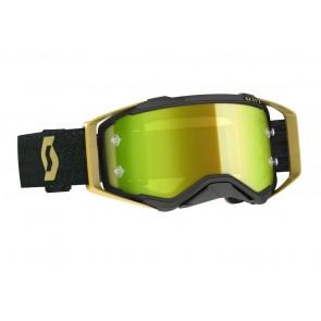Scott Prospect Brille Schwarz Gold - Gelb verspiegelt
