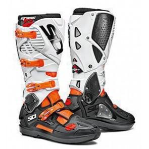 Sidi Crossfire 3 SRS Stiefel Orange Weiß Schwarz