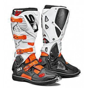 Sidi Crossfire 3 Stiefel Weiß - Orange