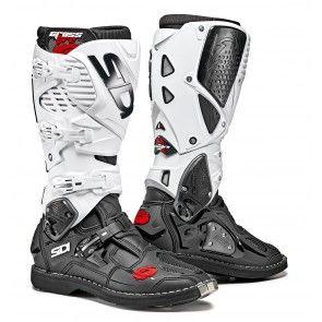 Sidi Crossfire 3 SRS Stiefel Schwarz Weiß