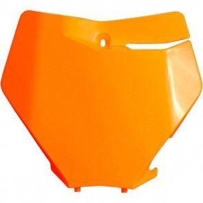 UFO Startnummerntafel Neon Orange KTM SX/SXF 125, 250, 350, 450 2019-